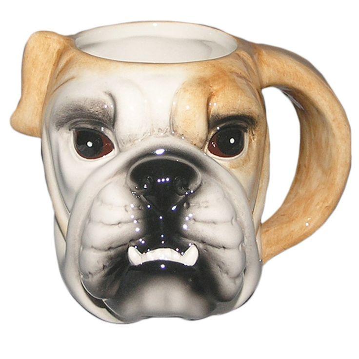 Funny Ceramic Dog Mug