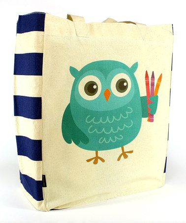 Look at this #zulilyfind! Artsy Owl Tote by Common Rebels #zulilyfinds