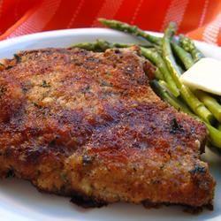 Côtelettes de porc panées à l'italienne @ http://qc.allrecipes.ca