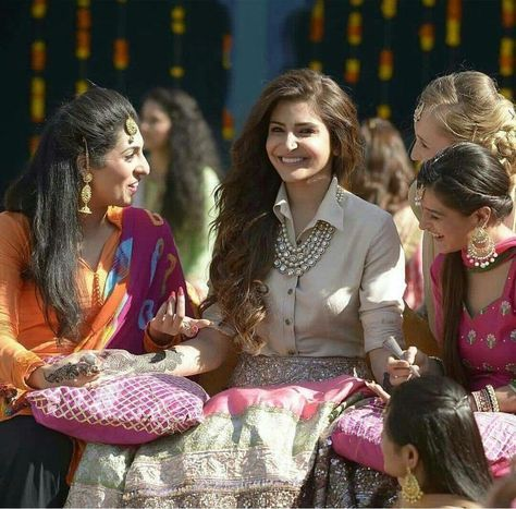 I first saw Anushka Sharma wear it in her latest Bollywood film Ai Dil Hai Mushkil. In the Cutiepie song, she wears a pale pink shirt and and pastel colour and sequinned lehenga skirt. She opted for a...