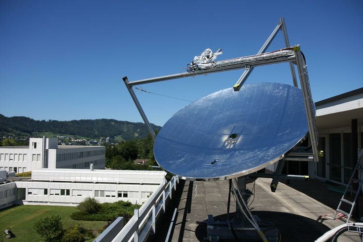 These Massive Mirrored Dishes Could Make Solar Cheaper For All... IBM Research is developing solar equipment that does a much better job at harnessing the sun's rays than today's designs.