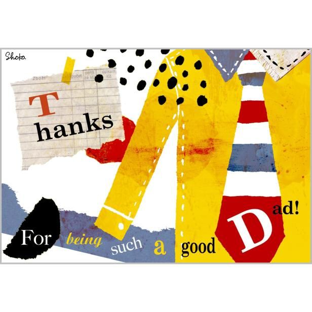 お父さんいつもありがとう✨素敵なポップアップカードを贈っちゃいましょう!✨➡️https://goo.gl/rM3nGx #父の日カード #グリーティングカード #メッセージカード #父の日 #イラスト