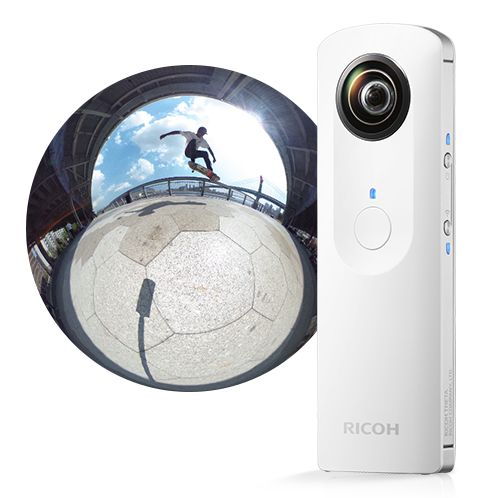 Bought back the RICOH THETA 360 degree camera home from Augmented Reality World Expo in Silicon Valley