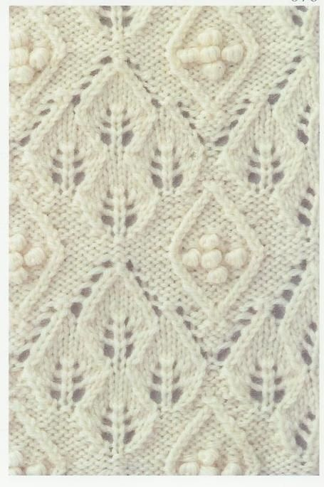 Free chart Lace Knitting Stitch #69 | Lace Knitting Stitches