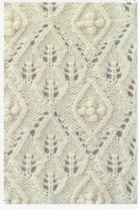 Lace Knitting Stitch #69   Lace Knitting Stitches