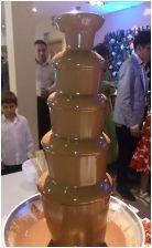 Milk Chocolate Fountain Hire London, Kent, Essex, Surrey, Croydon, chocolate fountain hire leyton, east london, waltham forest, london, surrey, croydon