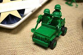 Stephanie J Designs | Wedding Invitations & Social Stationery Blog: Kiddos } Green Army Man Birthday Sweets & Papery