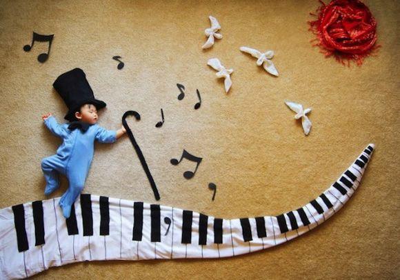 Креативная детская фотосессия - Wengenn in Wonderland