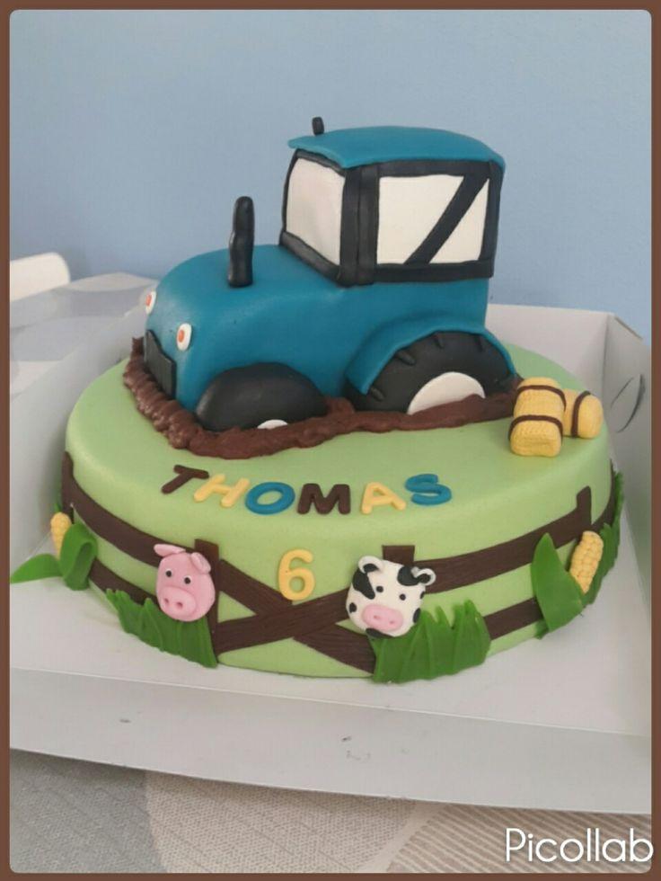 Trekker / tractor taart