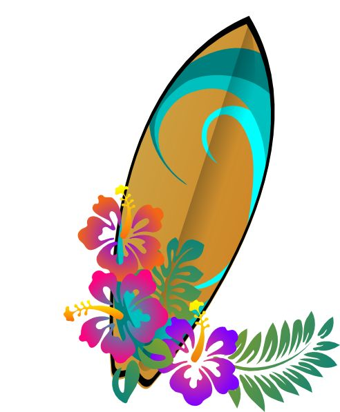 40 best Hawaii Clipart images on Pinterest | Tropical ...
