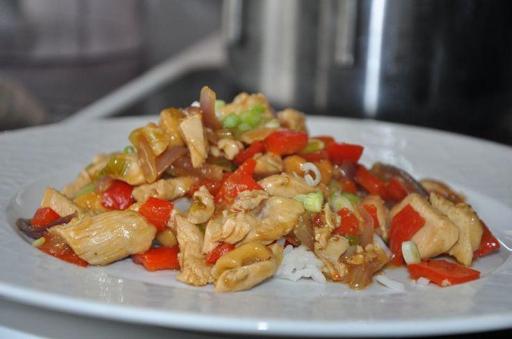 Kylling med cashewnødder