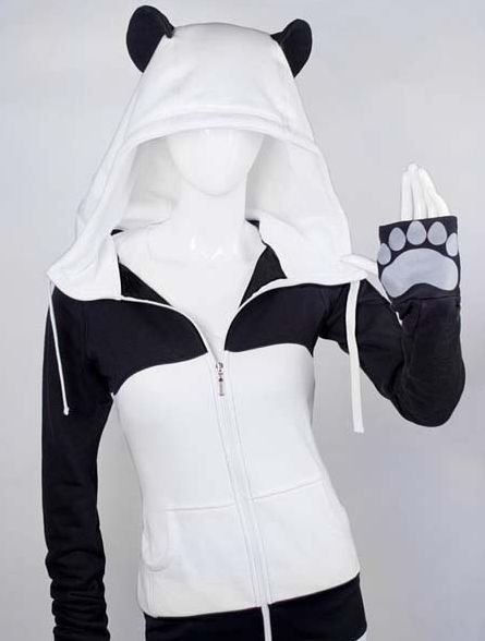 This wonderful panda hoodie, to help you truly embody your favorite animal. | 22 Adorable Things You Need If You Love Pandas