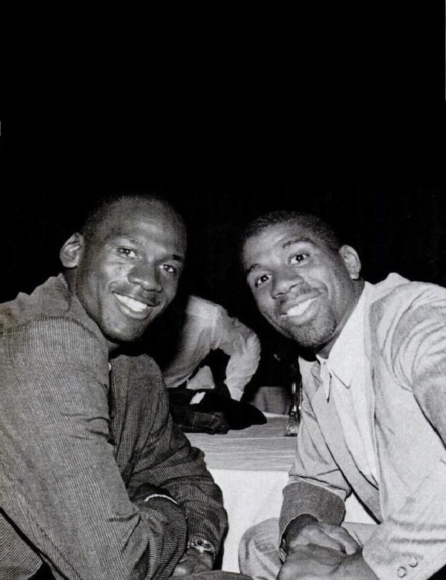 Michael Jordan & Magic Johnson