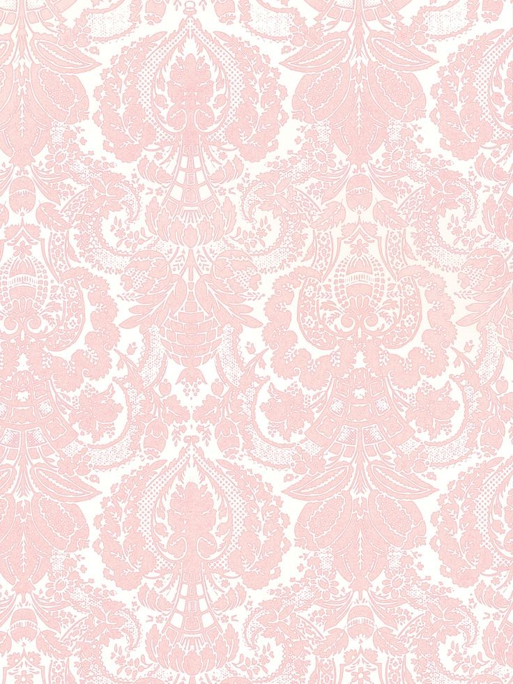 Pink Damask On Pinterest Damasks White Damask And Grey