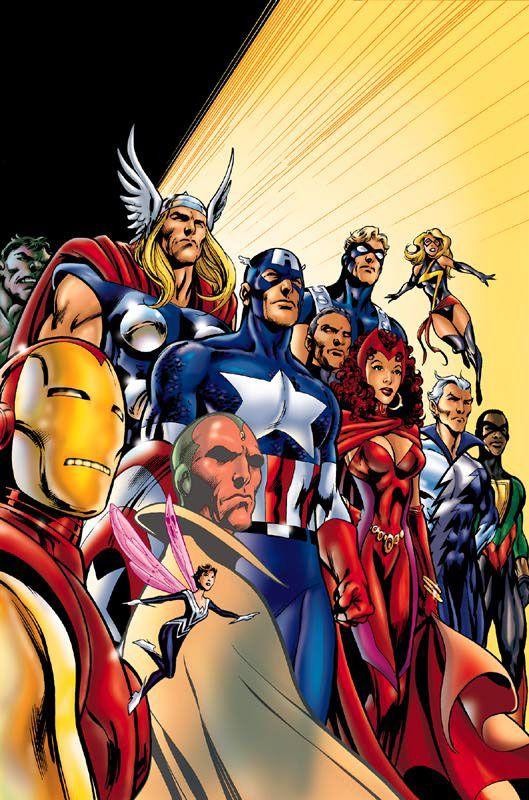 Avengers, Alan Davis art