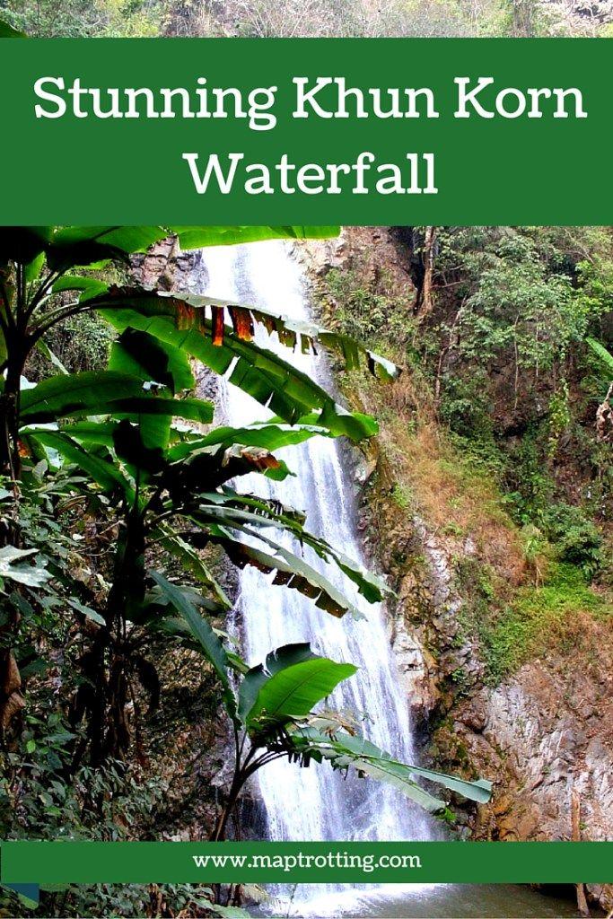 Stunning Khun Korn Waterfall, Chiang Rai, Thailand
