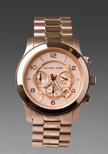 MICHAEL KORS Watch in Rosegold at Revolve Clothing - Free Shipping!