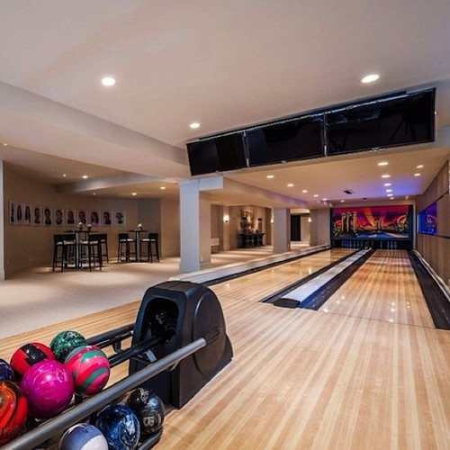 27 Best Home Bowling Alley Images On Pinterest