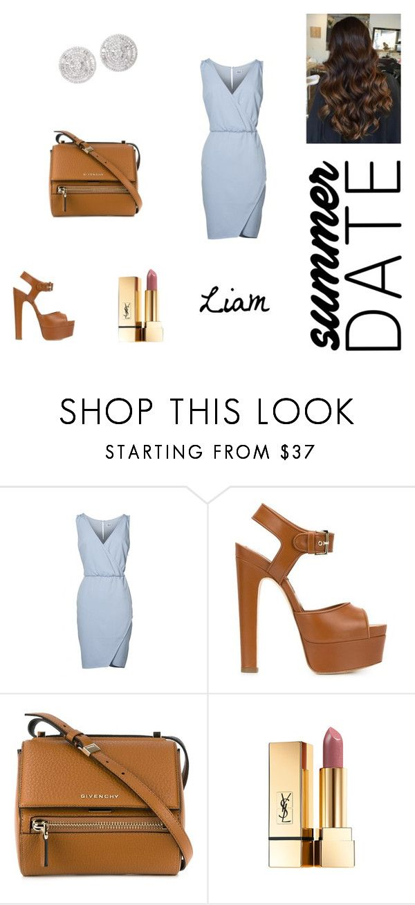 """First date outfit."" by ghappyg on Polyvore featuring Brian Atwood and Givenchy"