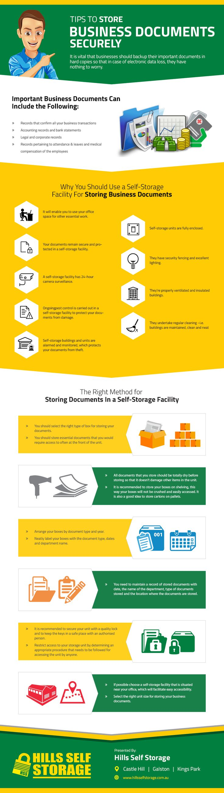 Tips to Store Business Documents Securely [Infographic]