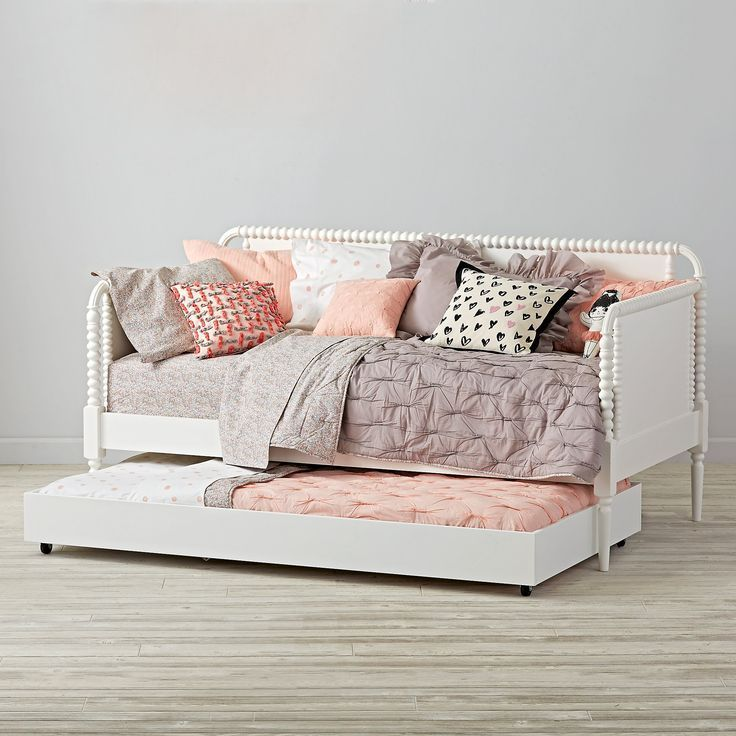 Jenny Lind Kids Daybed White Crate And Barrel Girls Daybed