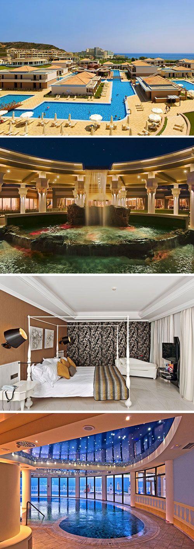 Laat je onderdompelen in luxe in het vijfsterren La Marquise Luxury Resort. Dit hotelcomplex, een van de grootste op Rhodos, heeft een prachtige ligging aan het strand. De moderne kamers worden omringd door verschillende zwembaden.