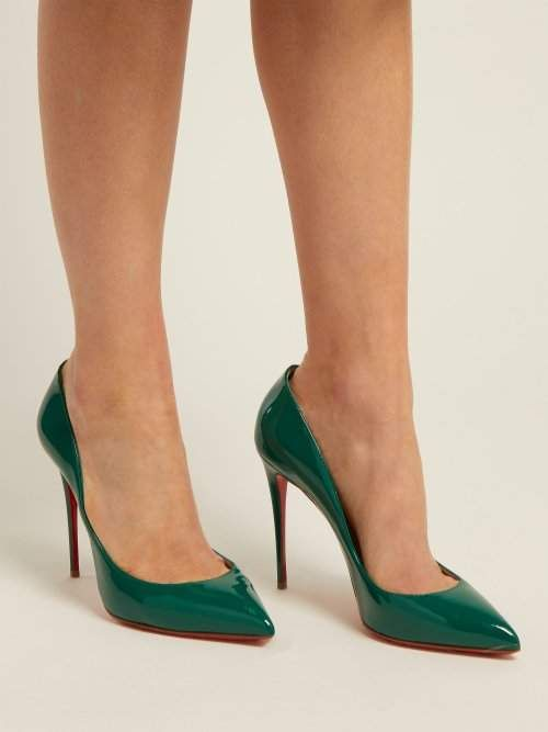 superior quality fbfed 4a90b Christian Louboutin Pigalle Follies 100 Patent Leather Pumps ...
