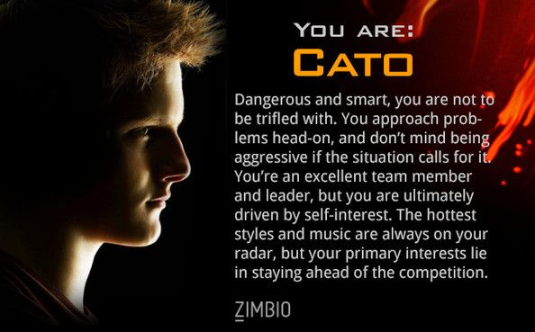 Which Hunger Games Character Are YOU? - Playbuzz