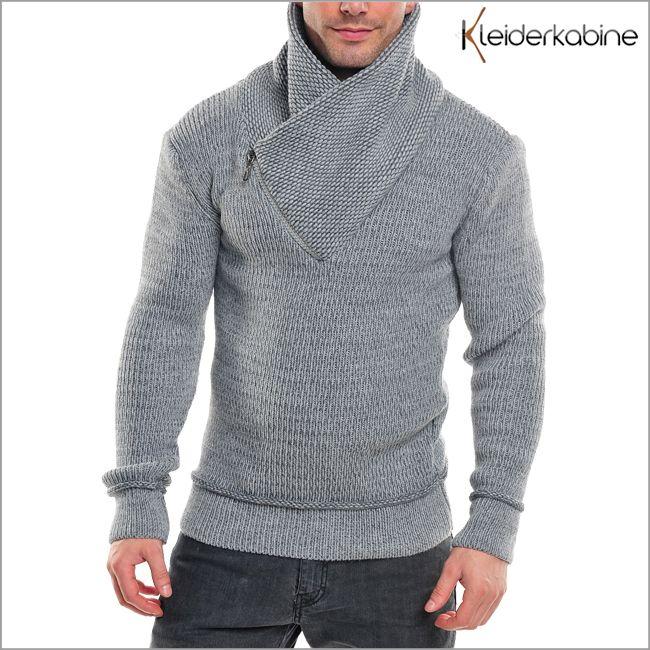 Wasabi Wear 564 Suéter Tejido Hombre Cuello Alto | eBay