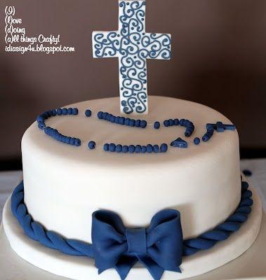torta de comunion para niño