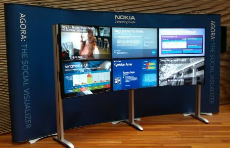 Nokia wants to make work more social. Agora - The social Visualizer