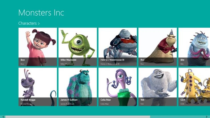 monsters inc. charecters | Monsters inc. | Pinterest ...
