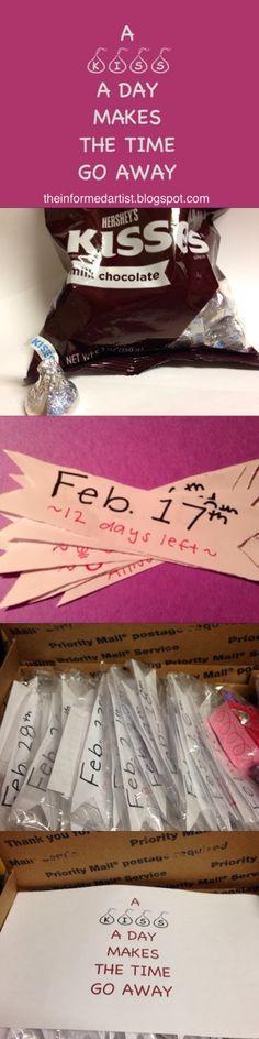 DIY Long-distance relationship boyfriend gift | The Informed Artist