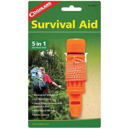 $6.21 Coghlan's 5-In-1 Survival Aid