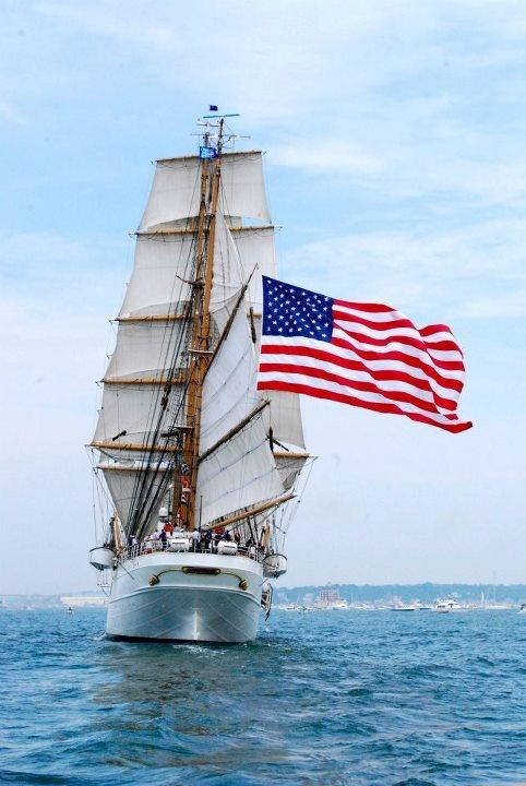 OpSail. US Coast Guard. Photo by Paul Duddy. #coastie #coastguard