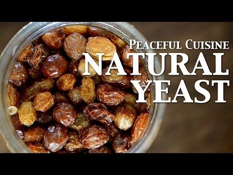 "Baking with natural yeast 1/3 ""Yeast water"" ☆ 天然酵母パン1〜自家製レーズン酵母〜 - YouTube"
