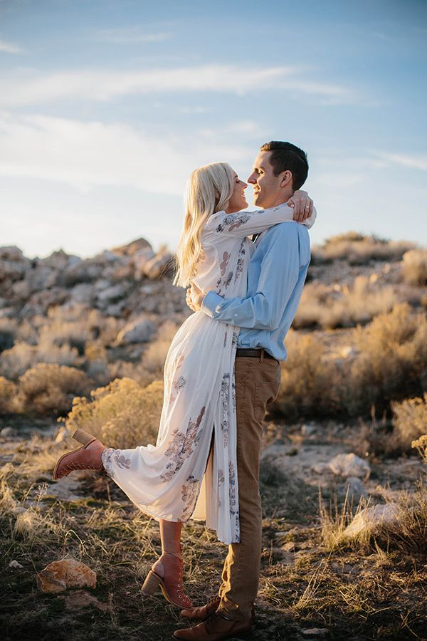 Antelope Island Engagement Pictures, Photograph by Talia Images #utahisrad #interact…