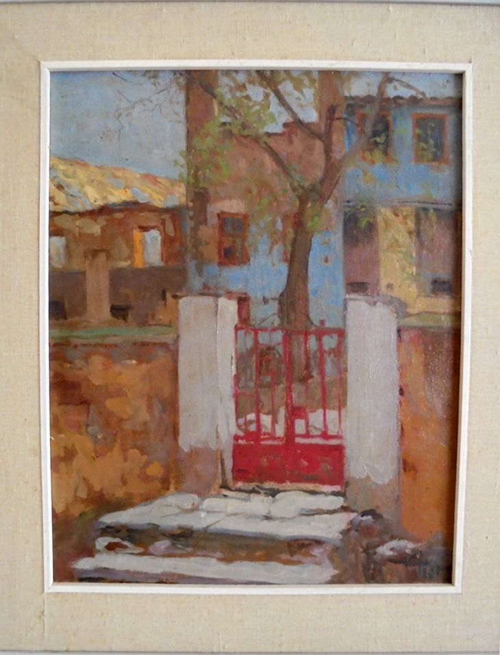 PAVLOS KALLIGAS-RED DOOR