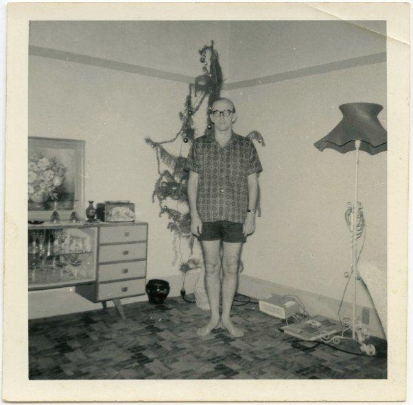 "https://flic.kr/p/aVLpfP | ""Dad"" | Vintage Australian snapshot (Christmas in summer). ""Dad"" is written on the back."