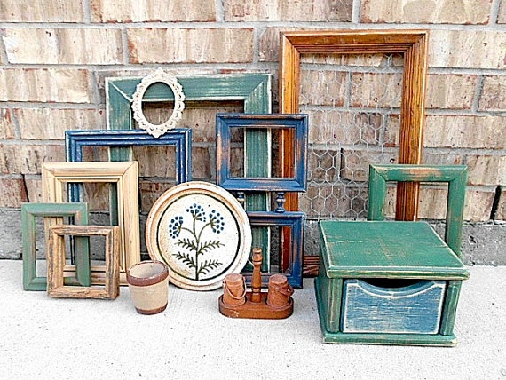 Upcycled Vintage Home Decor Collection Farmhouse By Timelessnchic Colors Feel At Home