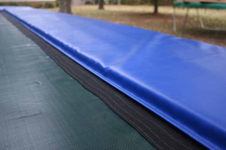 Rectangular trampoline pads with good warranty are available at Trampoline Pro Shop. Also provide custom rectangular trampoline pads.