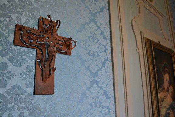 Croix de Coeur N ° 3 in acciaio Corten # croixdecoeur #christmasgift #handmade #cortensteel #crucifix #decor #kruzifix #ostern
