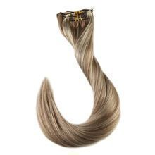 Full Shine 7Pcs Blonde Highligted  Color #10 and #613 Double Weft Clip In Human Hair Extensions 50g Real Human Hair Extensions     Wholesale Priced Wigs, Extensions, And Bundles!     FREE Shipping Worldwide     Buy one here---> http://humanhairemporium.com/products/full-shine-7pcs-blonde-highligted-color-10-and-613-double-weft-clip-in-human-hair-extensions-50g-real-human-hair-extensions/  #wigs