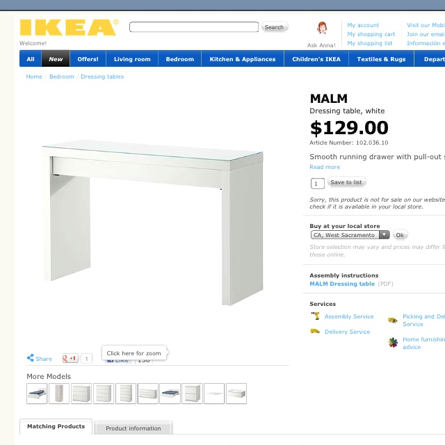 Ikea Wickelkommode Testbericht ~   Schminktisch Ikea on Pinterest  Dream Apartment, Girl Rooms and Malm