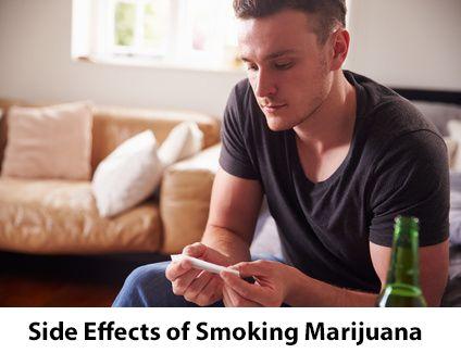 Side effects of smoking marijuana