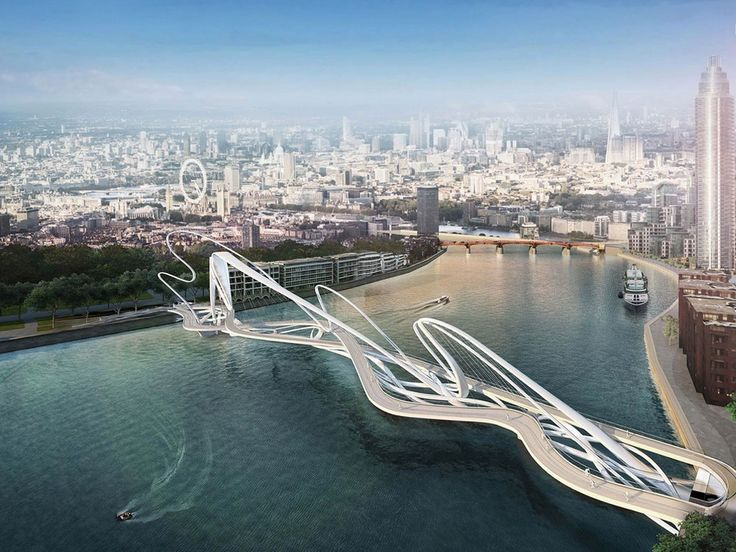 London's Fantastical Competition to Build Another Iconic Bridge |   Nine Elms to Pimlico Bridge Competition  | WIRED.com