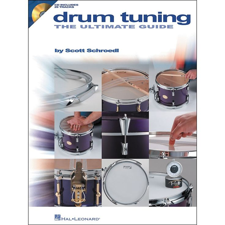 Hal Leonard Drum Tuning - The Ultimate Guide (Book/CD Set)