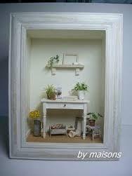 Resultado de imagen de escenas miniaturas en cajas de vino