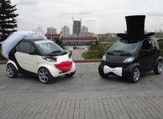 Bridal and Groom Car decoration