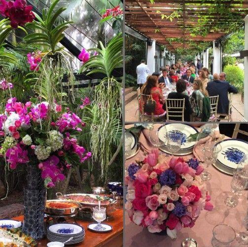 decoração casamento rosa e branco casamento helena bordon